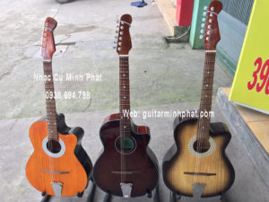 dan guitar co thung phim lom gia re